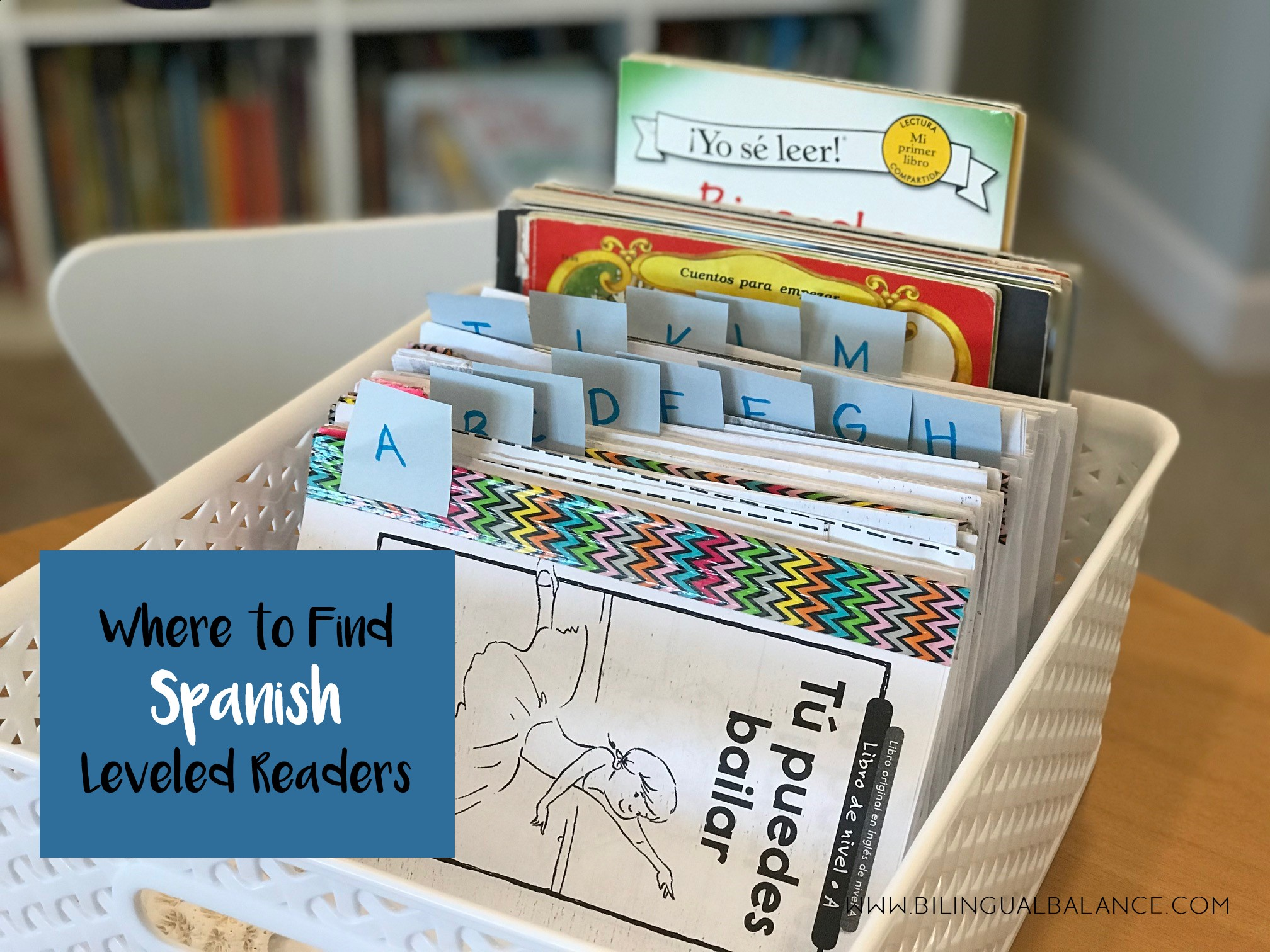 Where to Find Spanish Leveled Readers