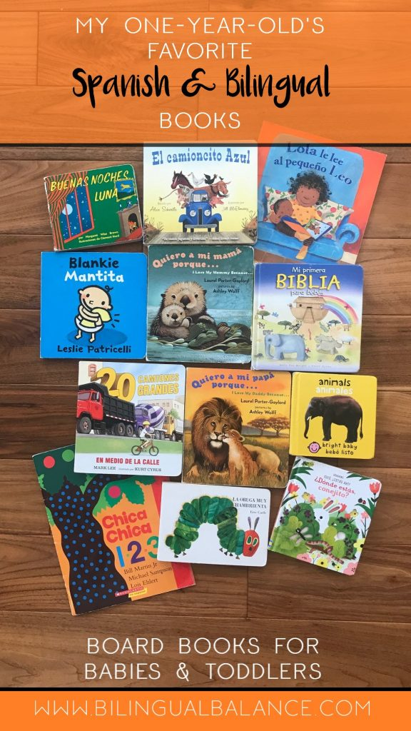 Top Spanish and bilingual board book recommendations for babies and toddlers.