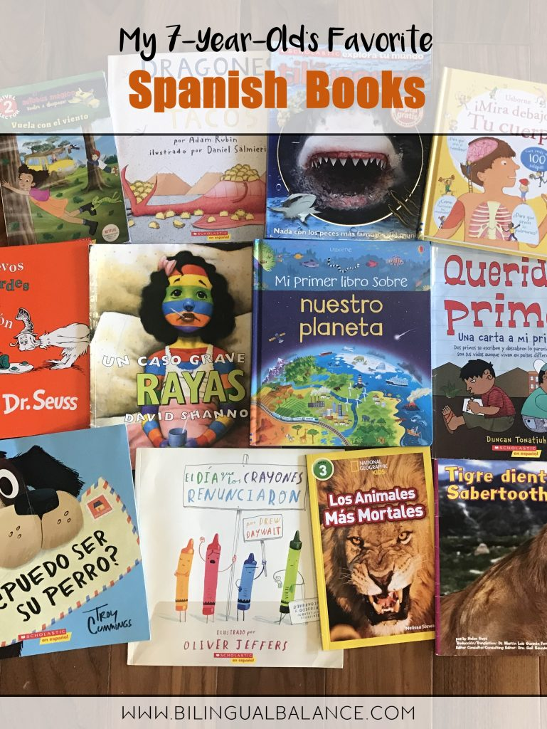 Favorite Spanish and bilingual books to inspire your kids to love reading!