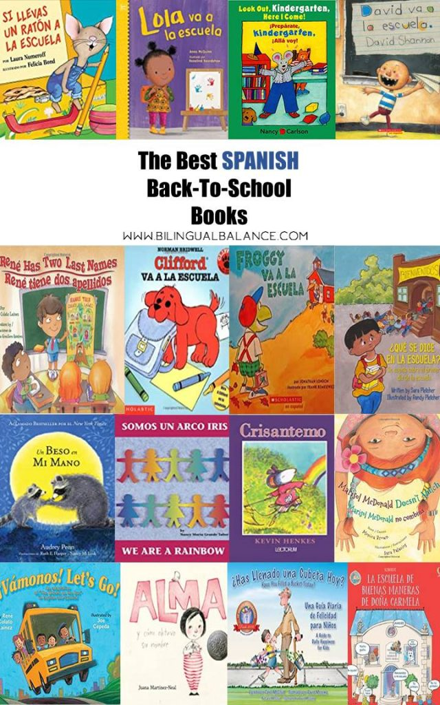 The best Spanish back-to-school books for kids