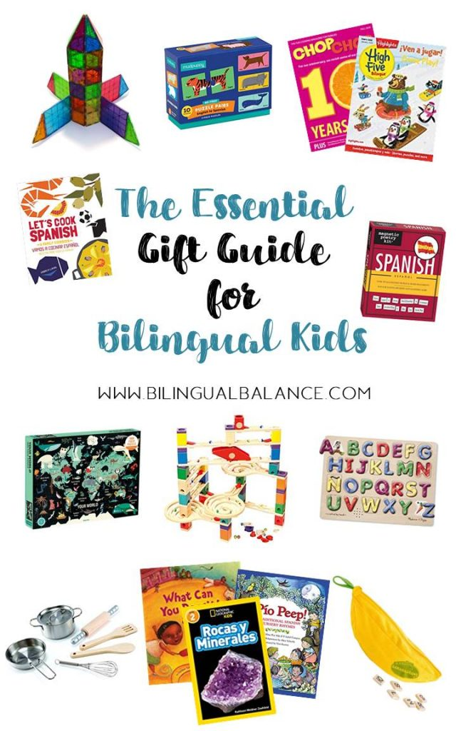 The essential gift guide for bilingual kids from Bilingual Balance.