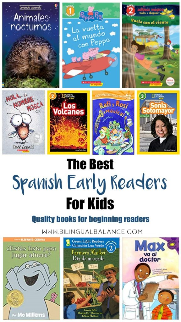 The best Spanish early readers for kids-quality books for beginning readers.