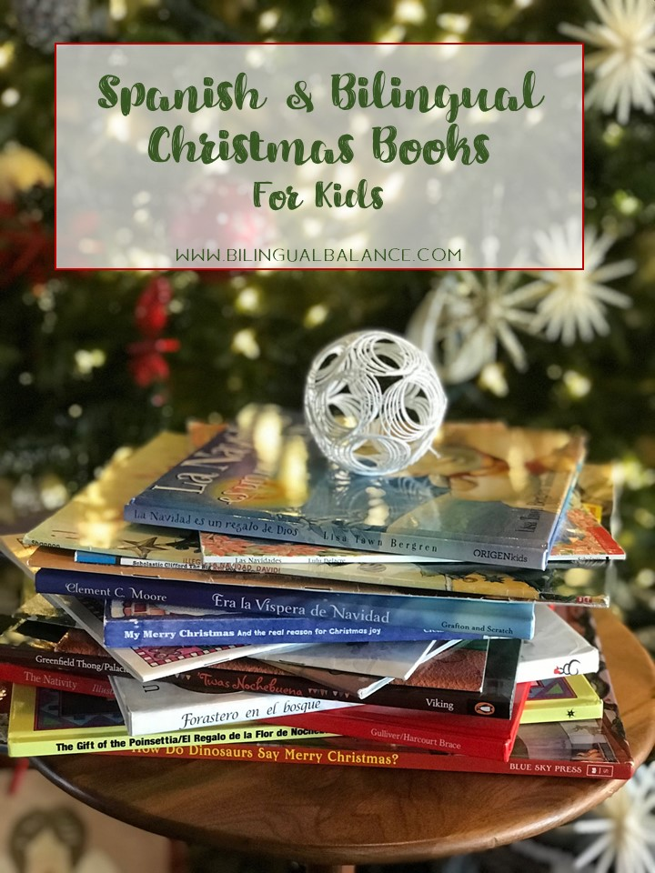 Spanish & bilingual Christmas book recommendations for kids.