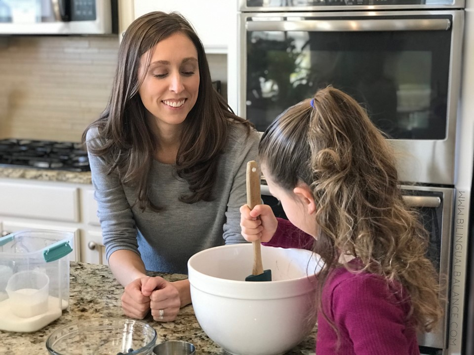 Language Learning with Kids in the Kitchen