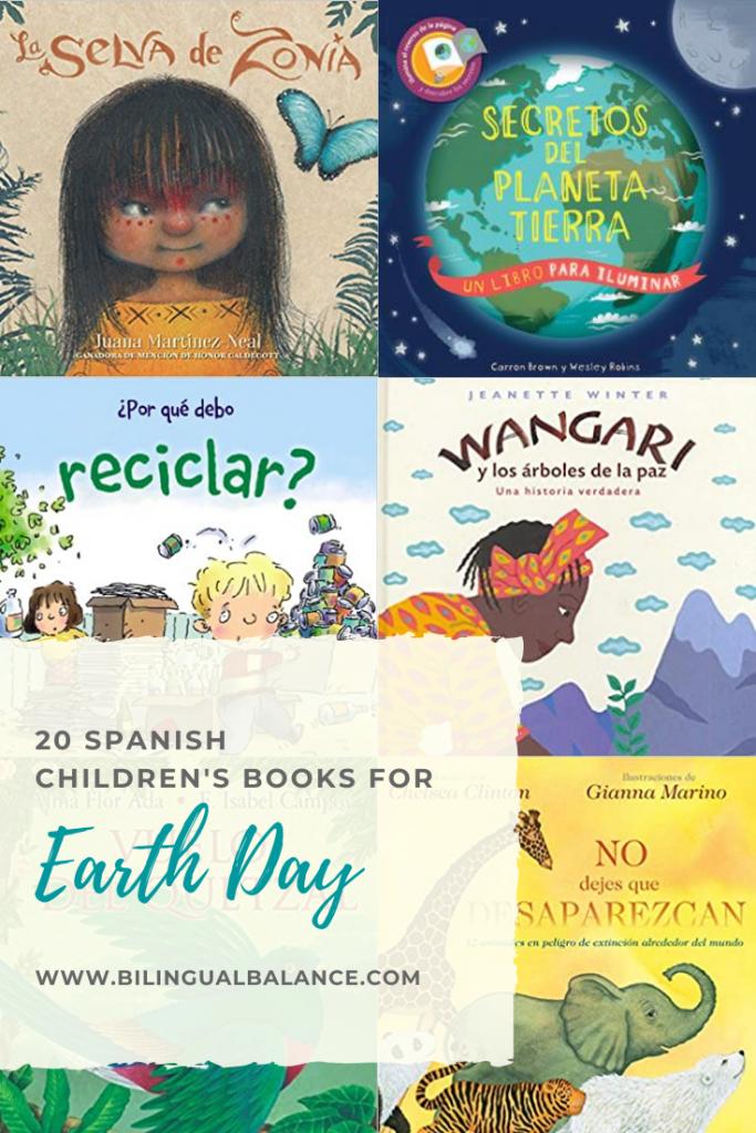 20 Spanish Children's Books for Earth Day