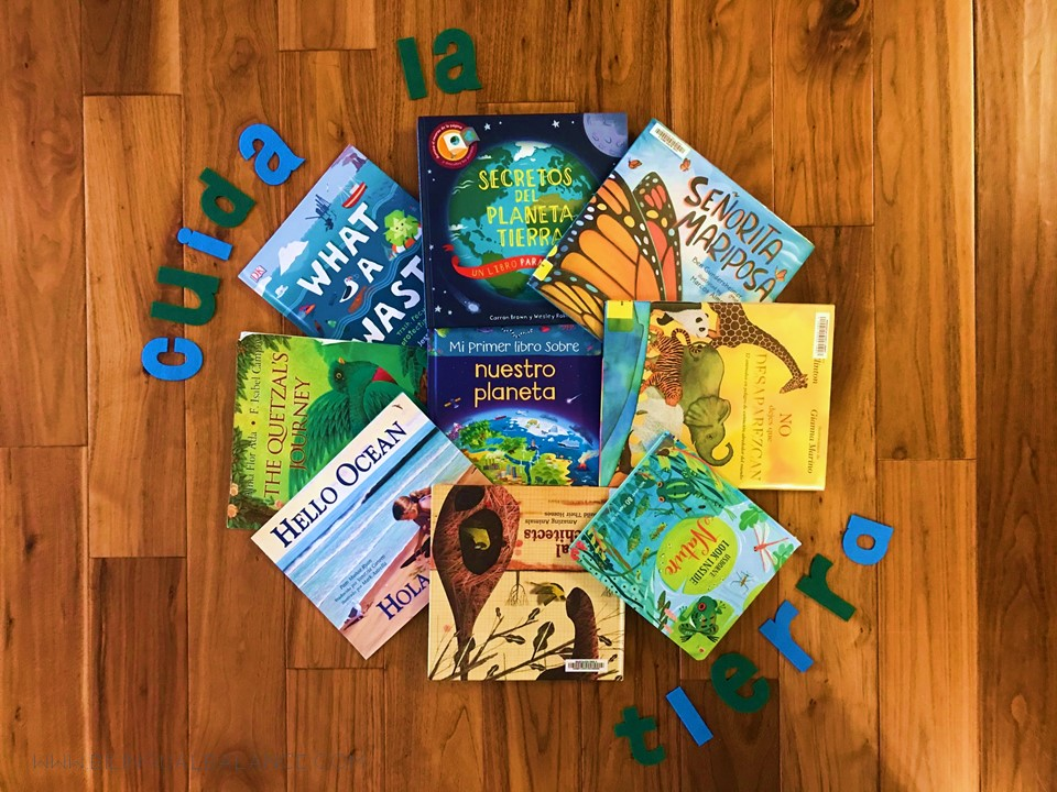 Earth Day Books for Kids In Spanish & English