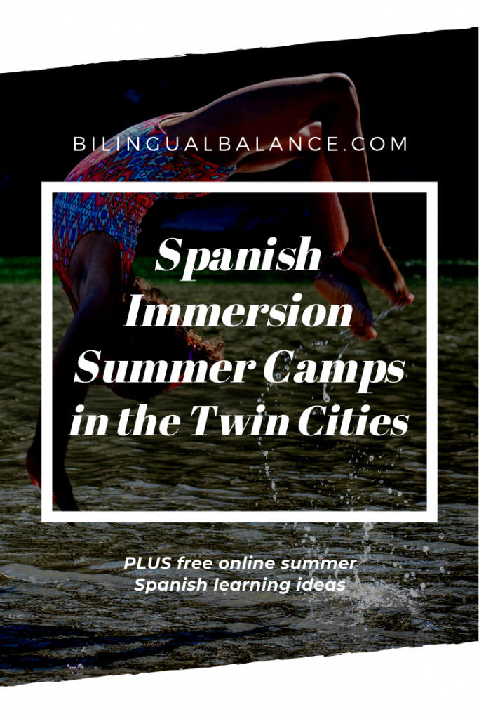 Spanish Immersion Summer Camps in the Twin Cities by Bilingual Balance.