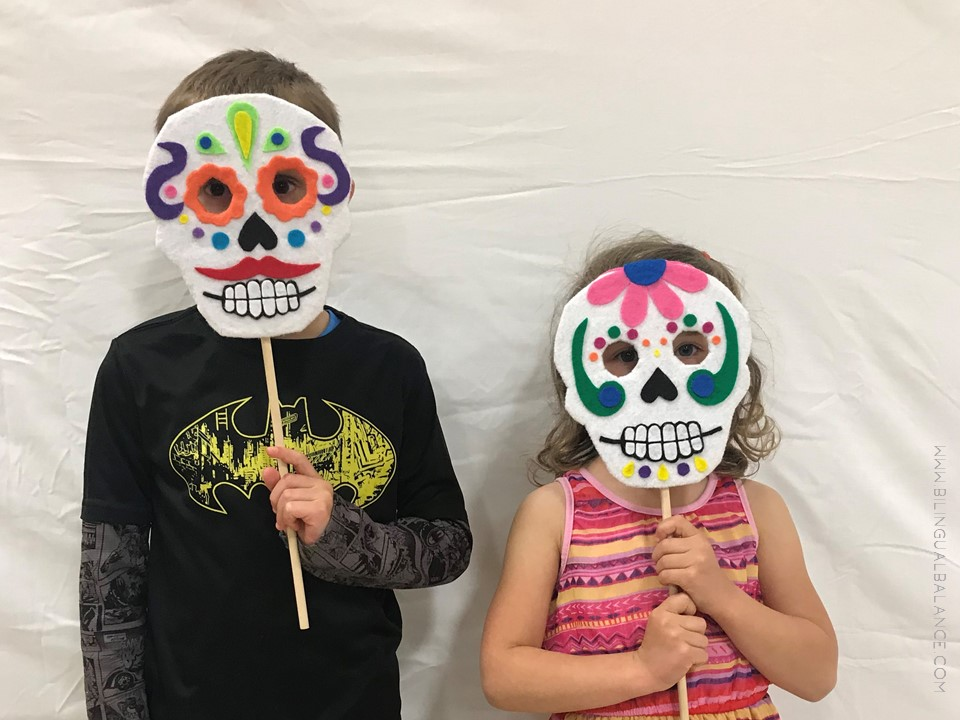 A fun family event for our Spanish immersion program - with a photo booth.
