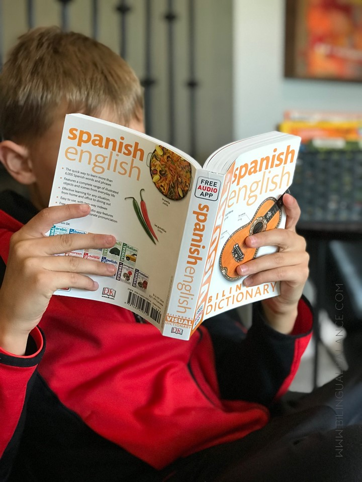 The best Spanish-English dictionaries for kids of all ages from Bilingual Balance.
