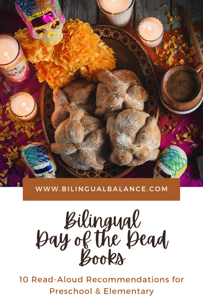 Bilingual Day of the Dead Books for Kids from Bilingual Balance.